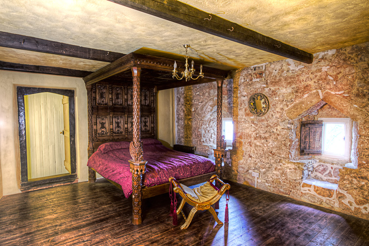 Llanthony Manor Bedroom