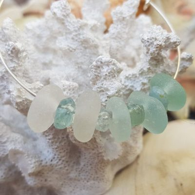 hombre Sea Glass and Aquamarine