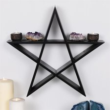 Pentacle Wall Shelf