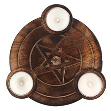 Pentagram Tea Light
